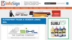 Agora na Alphaprint você encontra lonas Sihl! Confira: http://infosign.net.br/alphaprint-passa-a-vender-lonas-sihl/