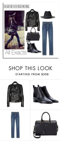 """""""Eleanor Calder on IG 3\17\2015"""" by lifeisworthlivingagain ❤ liked on Polyvore featuring Acne Studios, The Kooples and Yves Saint Laurent"""
