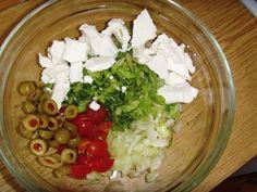 Cobb Salad, Feta, Cheese