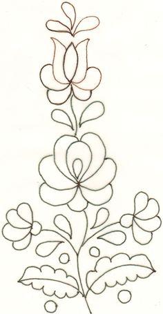 Bordado bordado t Bordado Bordados mexicanos y - Kindly Tutorial and Ideas Mexican Embroidery, Hungarian Embroidery, Hand Embroidery Patterns, Beaded Embroidery, Beading Patterns, Flower Patterns, Embroidery Stitches, Embroidery Jewelry, Painting Patterns