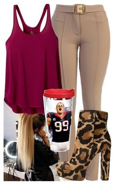 """JJ Watt!!"" by carmellahowyoudoin ❤ liked on Polyvore featuring prAna, Schutz, Tervis and JJWatt"
