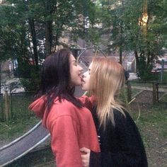 Find images and videos about love, girls and couple on We Heart It - the app to get lost in what you love. Cute Lesbian Couples, Lesbian Love, Cute Couples Goals, Intimate Couples, Couple Goals, Gay Aesthetic, Couple Aesthetic, Bff, Cara Delevigne