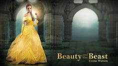 Emma Watson, The First Pictures Of Beauty And The Beast