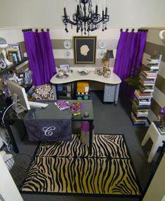 LoveYourRoom DIY Home Office Desk Skirt Hides Clutter Crafty