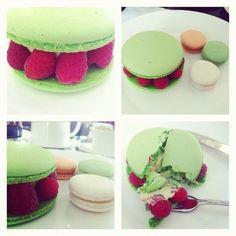 Macarons. Французское печенье