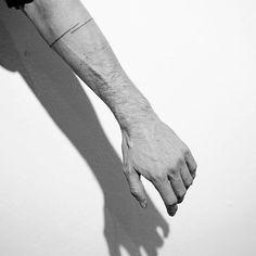 Hand Poke Tattoo  By: Spencer Hansen   Minimal Tattoo
