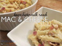 Bacon Buttermilk Ranch Mac & Cheese