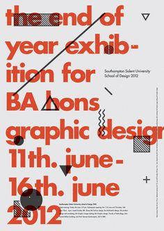 Southampton Solent University  School of Design 2012