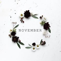 Ah, a new month is here. I don't know about y'all but no matter how cheesy it sounds a new month really feels like time to restart and refresh. Whatever happened the month before leave … Hallo November, Welcome November, November Month, Hello December, November Backgrounds, November Wallpaper, Fall Wallpaper, Graphic Wallpaper, November Images