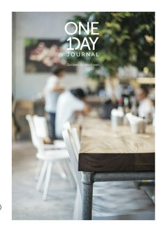 Simple // One Day Journal, issue 2 Book Design, Cover Design, Layout Design, Book Posters, Beautiful Cover, Visual Communication, One Day, Restaurant Design, Editorial Design