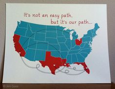 Love this -- track your military family's love on the move. ~~ MilitaryAvenue.com