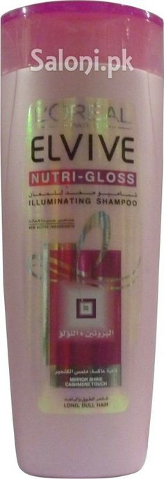L'OREAL ELVIVE NUTRI-GLOSS ILLUMINATING SHAMPOO 400 ML Saloni™ Health