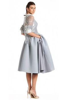Maticevski Spellbound Sweater & Virtue Cocktail Dress SS15 tonimaticevski.com