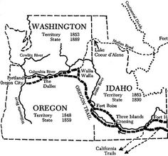 Oregon Trail / California Trail / Sante Fe Trail / Old Spanish ...