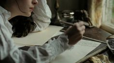 Becoming Jane, 2007 on We Heart It Story Inspiration, Writing Inspiration, Character Inspiration, Tessa Gray, Becoming Jane, Penny Dreadful, The Infernal Devices, Pride And Prejudice, Jane Austen