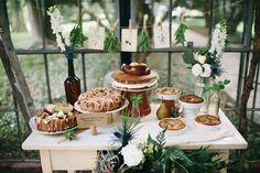 Botanical wedding inspiration | photo by  Aubrey Renee Photography | 100 Layer Cake