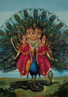 Kartikeya En la religión hinduista, Kartikeia es el hijo del dios Shiva y la diosa Parvati. es.wikipedia.org/wiki/Karttikeya