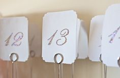 DIY Crystal Table Numbers | Weddings, Do It Yourself, Style and Decor | Wedding Forums | WeddingWire