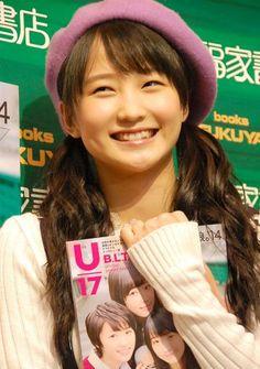 『B.L.T U-17 Vol.29』発売記念握手会イベントに出席したモーニング娘。鞘師里保 (C)ORICON NewS inc.