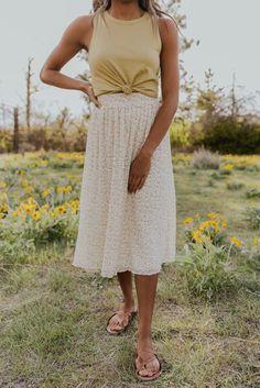 Our Last Summer Skirt