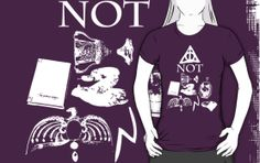 I made a Harry Potter Tee!  Hallows not Horcruxes by missdemeanor