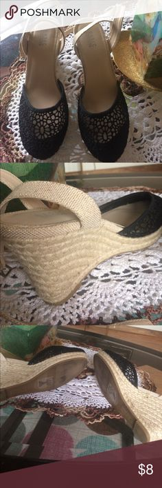 Basic editions wedge Used once basic editions Shoes Wedges