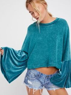 Sleeve Glorious Sleeves Pullover at Free People Clothing Boutique