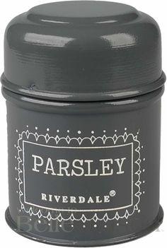 Pojemnik Parsley grey - BelleMaison.pl