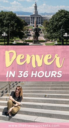 Check out all the fun things to do in Denver, Colorado in 36 hours.
