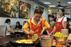 Oyster omelet in Shinlin Night Market, one of the best!