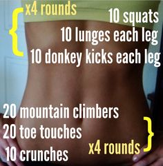 Quick workout for girls to tone legs, ass and abs! Easy to do at home with no equipment! Check out www.fitnessfoodandfitspo.com for loads of free workouts and info on health and fitness