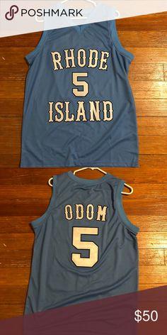 c8bdf2b95 Lamar Odom Jersey 1999 Rhode Island NCAA Lamar Odom Jersey  5 Nike Shirts  Tank Tops