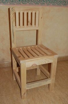 ¿Y una silla en este color? #madera #mueble #rustico #cosas #artesanal #habitacion #diseño #exterior #interior #decoracion #wood