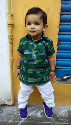 Cute kid..