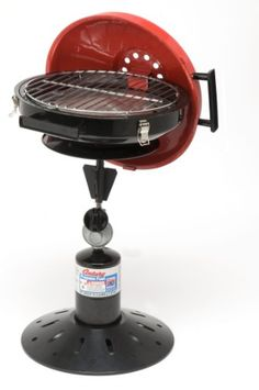 Century New CampaQue Portable Propane BBQ  RedBlack >>> More info could be found at the image url.