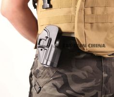 Quick Tactical CQC Right Hand Paddle Belt loop Pistol Belt Holster for H&K USP Compact USP
