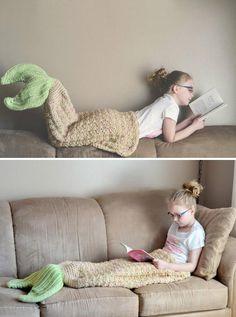 DIY Crochet Mermaid Tail