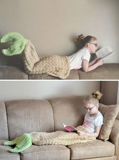 DIY Crochet Mermaid Tail