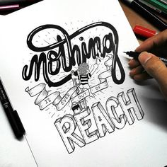 """Nothing is ever out of reach"" @hafizhhaidar  #Goodtype #StrengthInLetters  http://kck.st/1U6Aw01"
