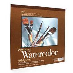 Strathmore watercolour paper pad   DeSerres
