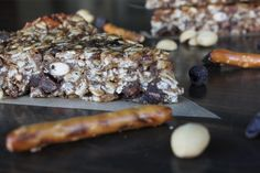The Vegan Chickpea: Peanut Butter Pretzel Granola Bars