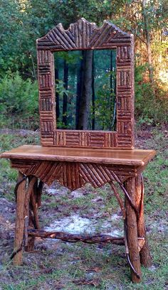 Everything Willow Rustic Furniture  pinned with Pinvolve