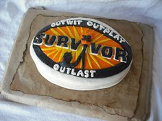 We are SURVIVOR fans at my house. Big-time fans. So when it came time to decide on a theme for what was supposed to be a sur...