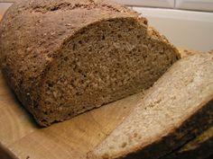 hEerlijk eten: Super makkelijk 100% volkoren brood