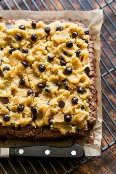 Grain Free Cookie Dough Brownies | Get Inspired Everyday!