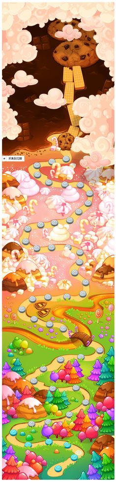 Candies Map on Behan...