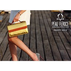 Get the preppy gold now on www.peauferoce.com/buy-now-pf-191