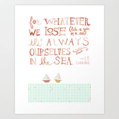 for+whatever+we+lose.+..+Art+Print+by+MEERA+LEE+PATEL+-+$20.00