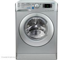 Indesit Innex XWE91483XS Freestanding Washing Machine - Silver
