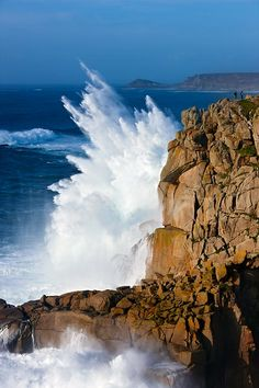 Land's End, Cornwall by Helen Dixon